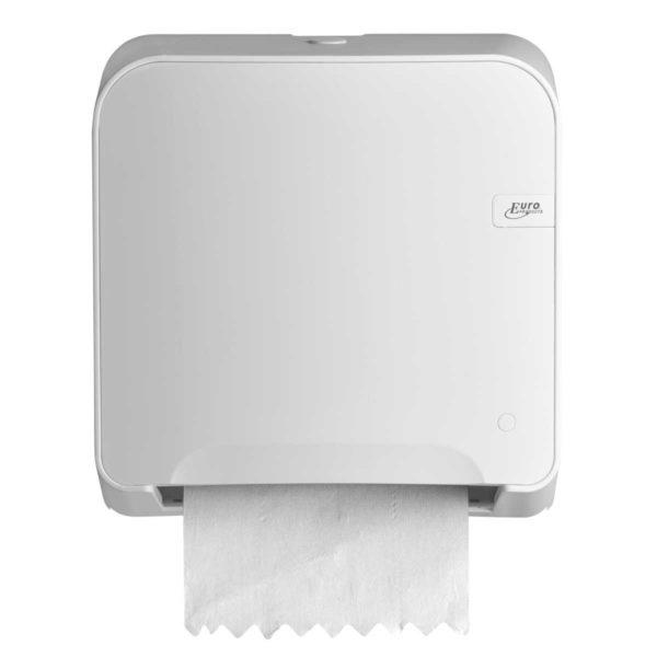 HYGMA Handdoekpapierdispenser mini matic wit