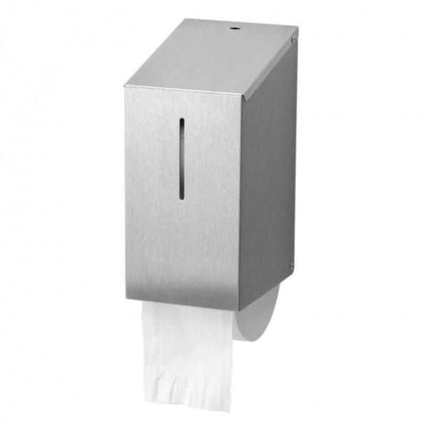 HYGMA Toiletpapierdispenser Dop RVS
