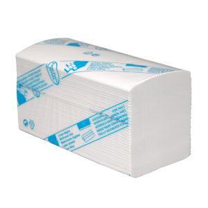 HYGMA Handdoekpapier interfold 3-laag Cellulose 32x22cm
