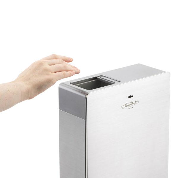 HYGMA hygienebak 7,6 liter Touch-free RVS
