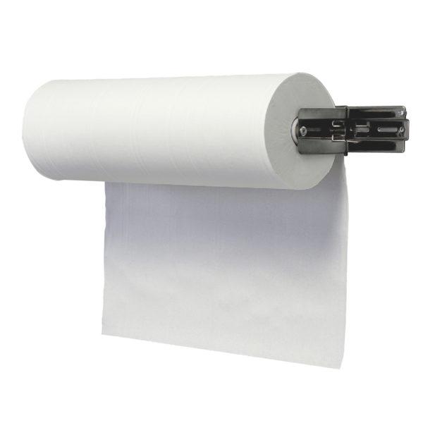HYGMA poetsrol midi 1-laag recyceld wit 300m