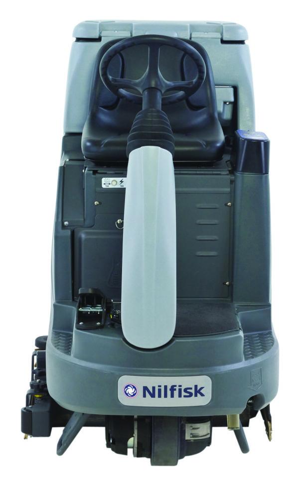 Nilfisk Ride-on schrobzuigmachine BR755