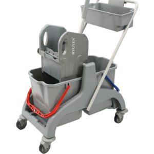HYGMA Eco mopsysteem 2x18L incl pers:duwbeugel